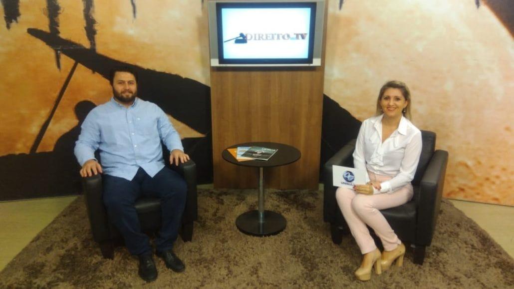 Dr. Bruno Francalacci Concede Entrevista Ao Programa Direito Na TV (Unisul TV)